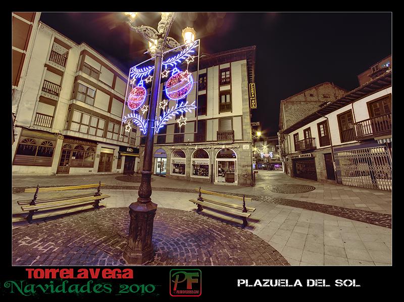 Torrelavega - Plazuela del Sol  - Navidades 2010