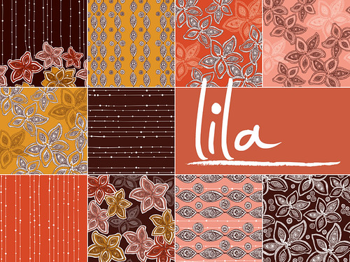 Lila ~ New patterns set~