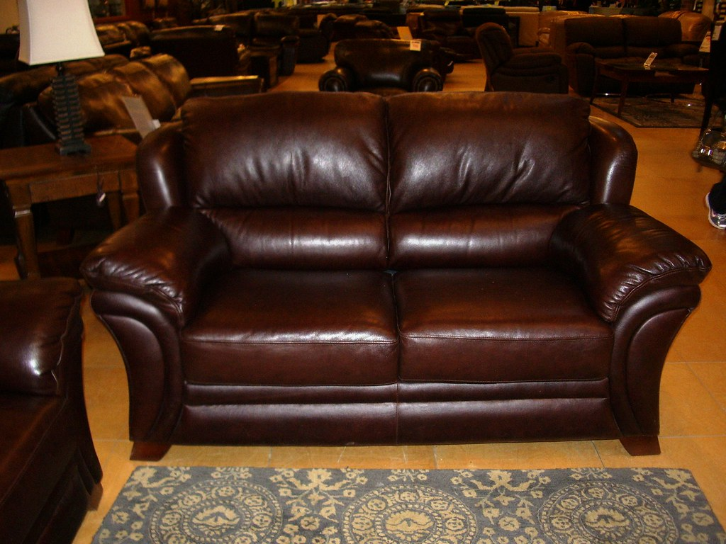 Leather Loveseat for Mom