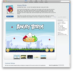 angry birds for Mac OS X on App Store for Mac OS X