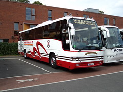 Weardale Motor Services of Bishop Auckland YN10FLD (yorkcoach) Tags: park york st coach auckland motor bishop clarence services weardale yn10fld