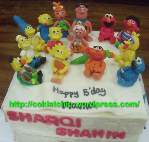 All About Cartoon Character Cake Jual Kue Ulang Tahun