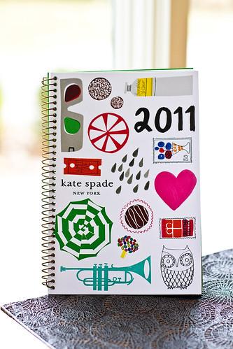 Kate Spade 2011 planner
