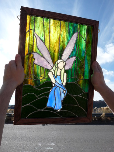making a stained glass window 7