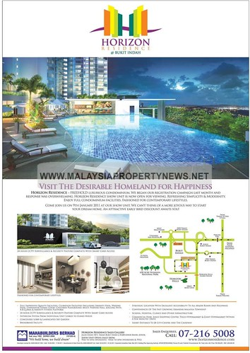 Horizon Residence, Bukit Indah Johor, pr0perty, housesforsale