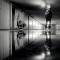 sol sous (Le***Refs *PHOTOGRAPHIE*) Tags: bw white black reflection sol water silhouette graffiti nikon smoke garage parking pluie nb nike reflet human nimes hdr hlm batiment banlieue sous soussol symetrie fuite d90 fum paerspective zupnord lerefs