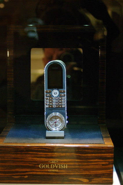 Blinged out mobile phone
