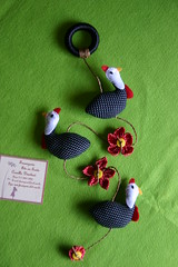 Mbile Galinhas Dangola (Frumigaria - Arte em Tecido) Tags: galinha handmade feitomo artesanal craft felt feltro filz galinhas feutrine fieltro  galinhadangola mbilegalinhas