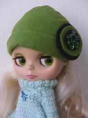 Green love retro hat