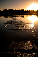 (ant_43) Tags: uk sunset sea sky bw sun colour reflection wet water silhouette 30 canon dark boats long exposure stones bricks 110 sigma filter nd daytime 1020 essex colchester wivenhoe 1000x 450d ant43