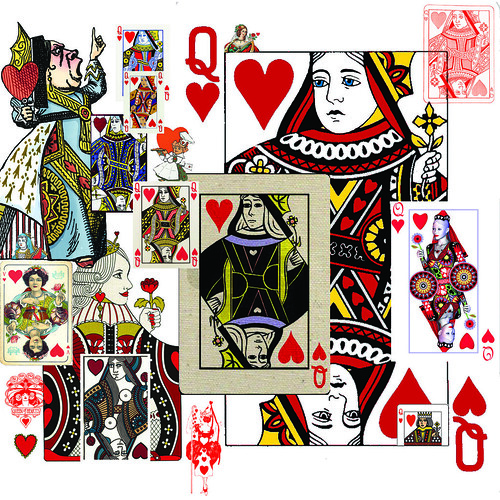 QueenofHearts12x12Sheet