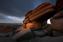 Shelter Rock (andy_AHG) Tags: winter rock rural landscape peakdistrict hills moors shelter pennines darkpeak moorland beautifulscenery hopevalley britishcountryside northernengland higgertor theedges outdoorpursuits hathersagemoor