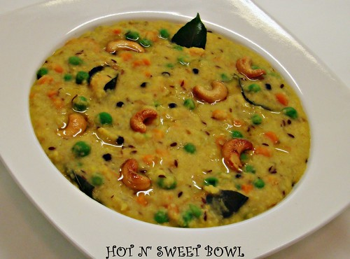 Wheat Rava Pongal