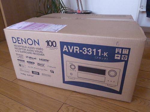 DENON AVR-3311設置