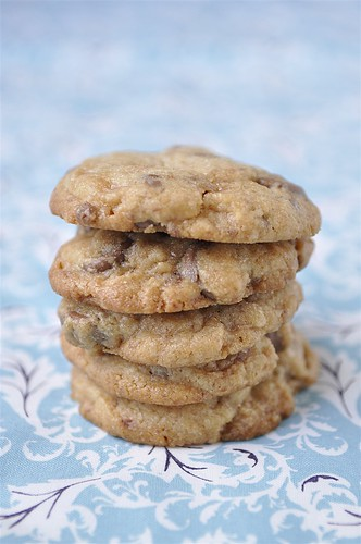 Toffee and CHocoalte Chip Cookies