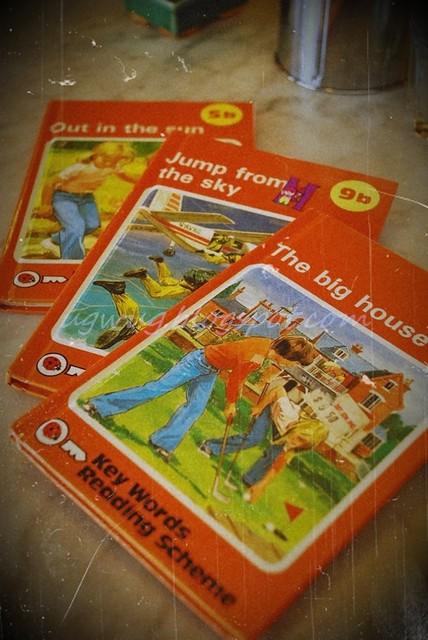 Ladybird books - Menu
