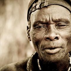 Himba Chief (gunnisal) Tags: portrait chief tribe namibia himba ovahimba gunnisal