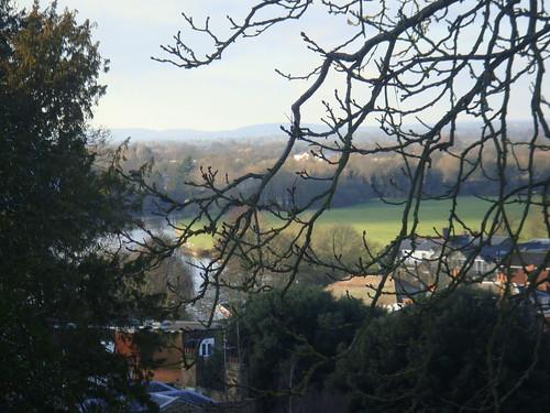 Vista del Támesis desde el castillo
