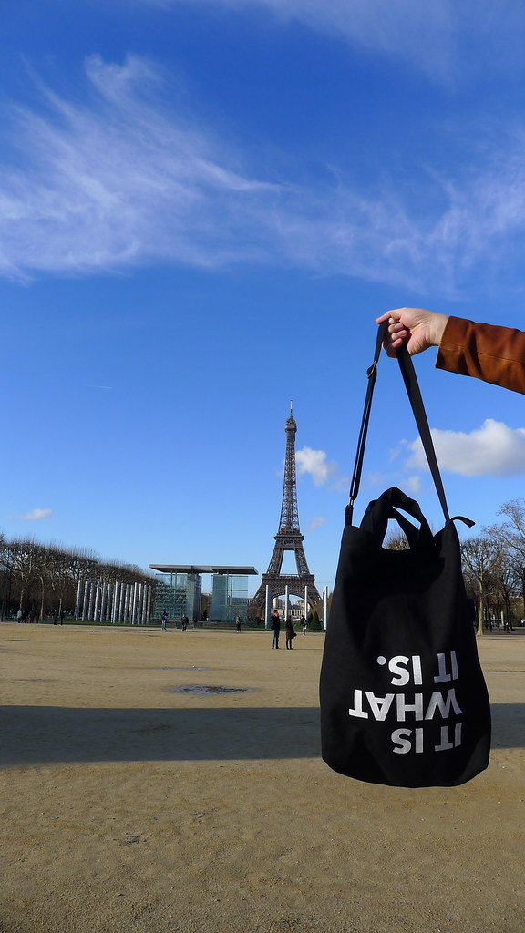the Message Bag in Paris!