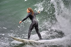 She can Surf!!