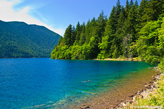 Lake Crescent @ Olympic National Park (Feng Wei Photography) Tags: travel summer wallpaper lakecrescent usa nature landscape washington nationalpark scenic scenary olympicnationalpark nationalgeographic