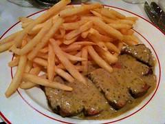 Steak Frites, L'Entrecôte, Duxton Hill