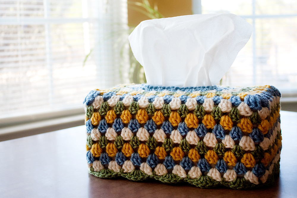 Kitschy Tissue Box Cover