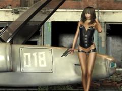 Dangerous Women 01 (karl_eschenbach) Tags: sf photoshop poser 3d fantasy scifi sciencefiction darkfuture
