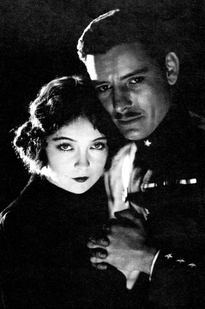Lillian Gish and Ronald Colman