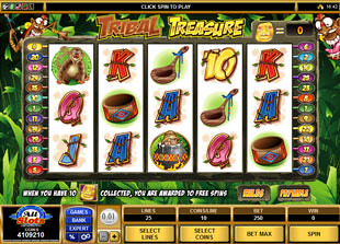 Tribal Treasure slot game online review