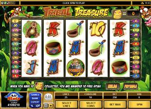 Tribal Treasure slot game online review