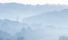 Gascony Morning (garyjhawkins) Tags: autumn trees mist france fall fog raw hills layers gascony gers marciac tourdun