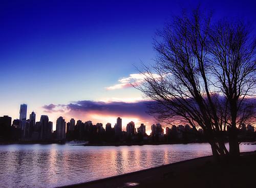 A Canadian dusk