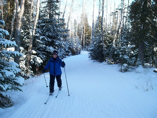 Skiing Two Harbors