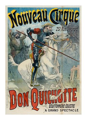 016-Nuevo circo-Don Quijote bufonada ecuestre-1892-Les Siles maison du libre et de l'affiche
