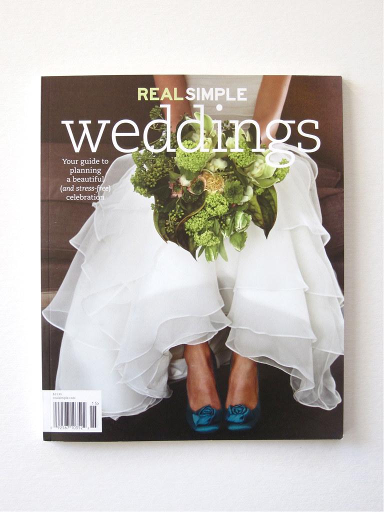 The Indigo Bunting: In Real Simple Weddings