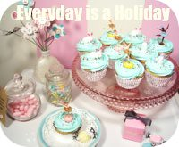 blog button (holiday_jenny) Tags: ballet bunnies kitchen cake vintage easter baking sweet plastic rabbits toppers picks frosting ballerinas top20blue