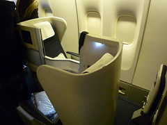 British Airways Club World Seat