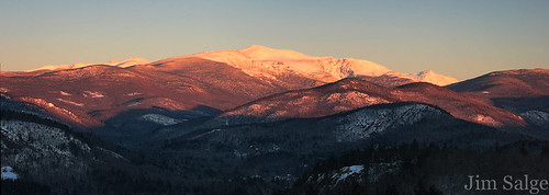 Later Golden Light From Jackson, NH