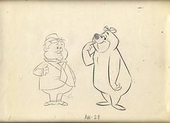 Hanna Barbera LAUREL & HARDY Animation Drawings 1967 (Nemo Academy) Tags: original hanna drawing barbera