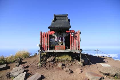 利尻岳の山頂