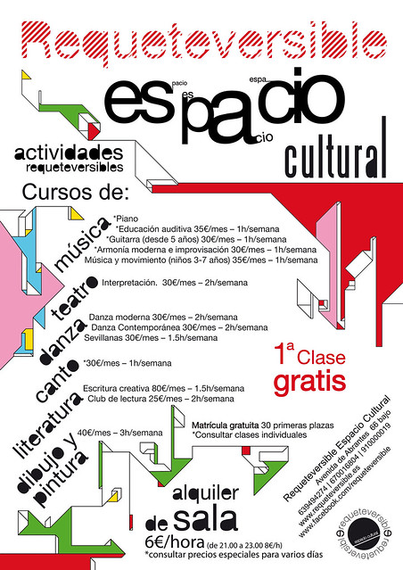 Cartel 2011 Requeteversible - Espacio Cultural