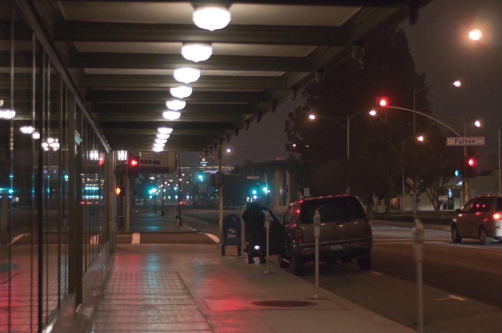 Fulton Nights (Paul_Sch) Tags: California Street City Winter Urban Streets  Reflection Art Cars
