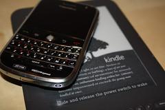 Bold 9000 & Kindle 3 (FrankCM) Tags: amazon blackberry ebook bold 9000 kindle bold9000 kindle3