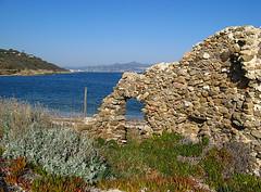 La Moutte, ancienne madrague (myvalleylil1) Tags: winter mer france water scenery eau hiver eu mditerrane golfedesttropez leuropepittoresque