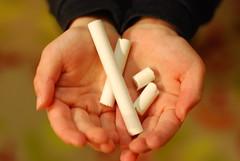 Chalk (or eggshells)