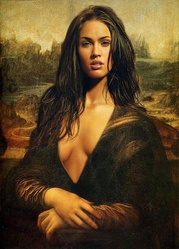 DUDamel · lalibertad · Megan-Fox-Mona-Lisa