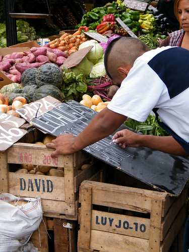 Fruit and Veg Stall in San Telmo, Buenos Aires, Argentina by katiemetz, on Flickr