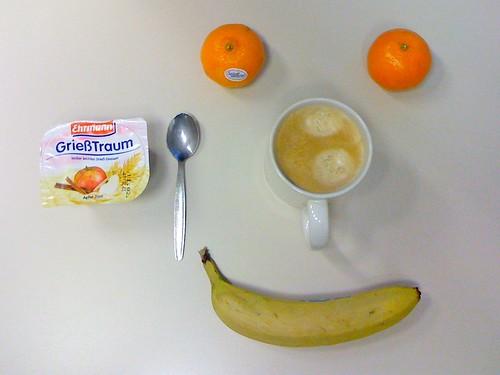 GrießTraum, Clementinen & Banane