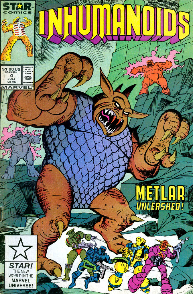 Inhumanoids - Issue 4 Cover
